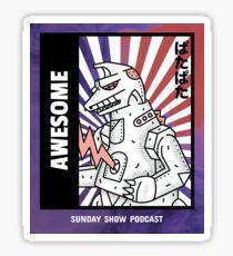 Robot Monster Sticker