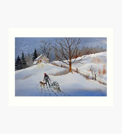 The Season's Best to One and All Art Print