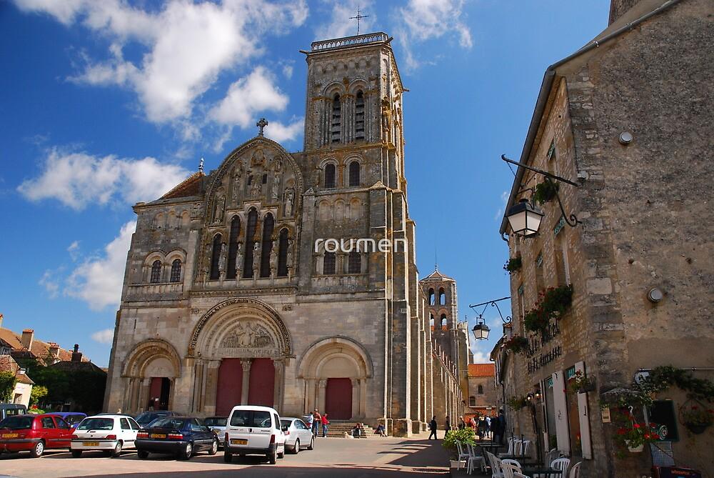 Basilique Sainte Madeleine, Vézelay by roumen
