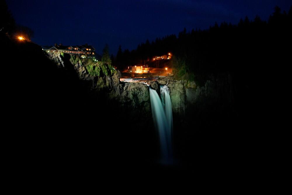 Snoqualmie Falls (aka Twin Peaks falls) by Octoman