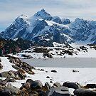 Mount Shuksan in Winter by Amy Hale