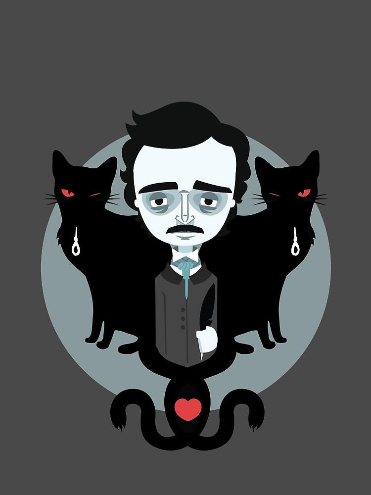 Edgar Allan Poe von murphypop