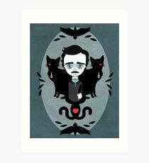 Edgar Allan Poe Kunstdruck