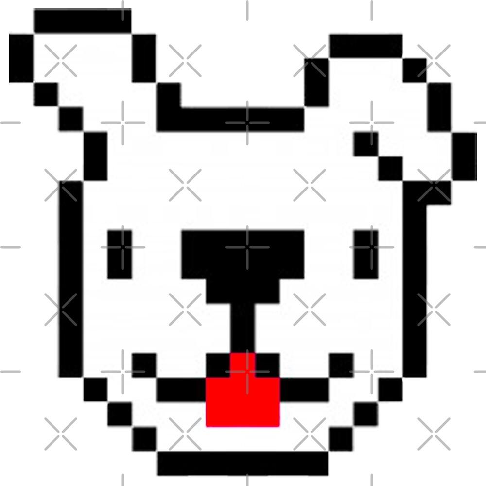 Chiot Mignon Pixel Art Par Ragnarokdesigns Redbubble