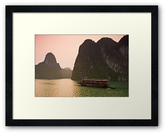 Halong Bay Sunrise by Nickolay Stanev