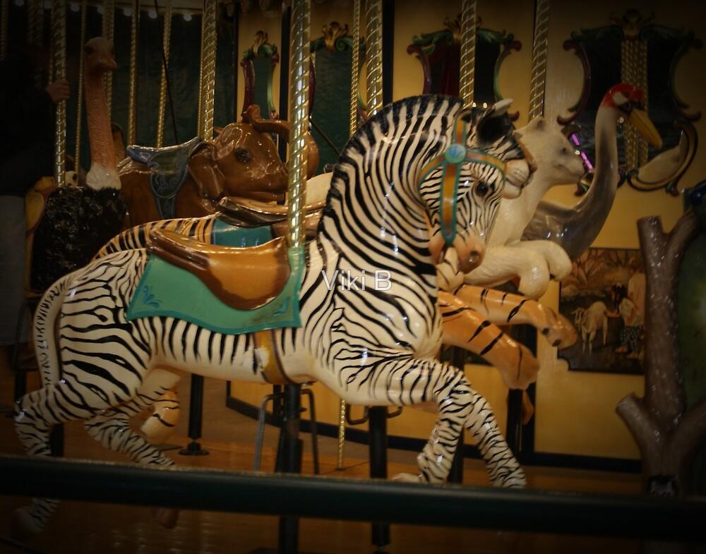 Zebra Ride by Viki B