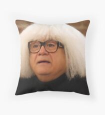 danny deVito- updated higher Quality  Throw Pillow