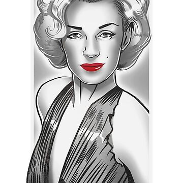 Marilyn B&W by ricardojurado