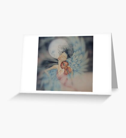 blue angel of peace © 2009 patricia vannucci  Greeting Card
