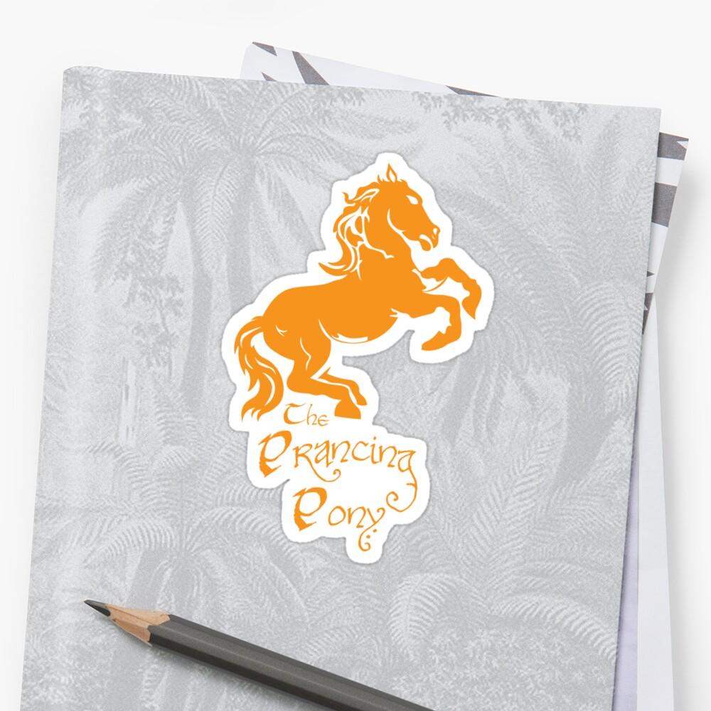 Das tanzende Pony Sticker