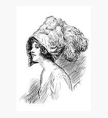 The Hat Photographic Print