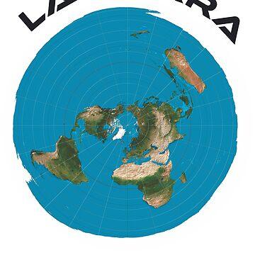La Tierra Es Plana The Earth Is Flat by pronyctech