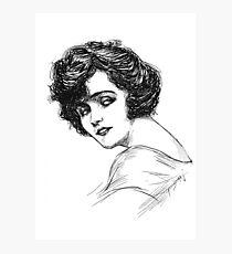 The Actress Photographic Print