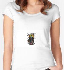 Camiseta entallada de cuello redondo Santa Muerte