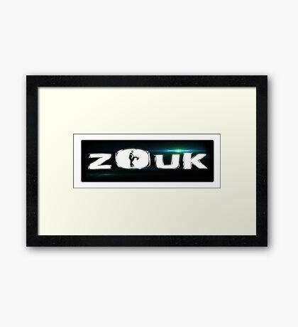 ZOUK Framed Print