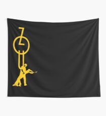 lets dance zouk - yellow Wall Tapestry