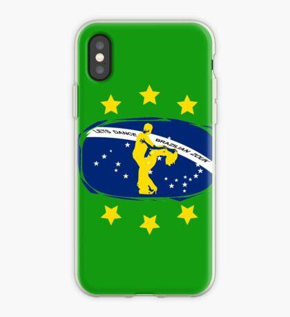 lets dance brazilian zouk flag color design iPhone Case