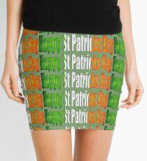 Happy St Patricks Day Mini Skirt