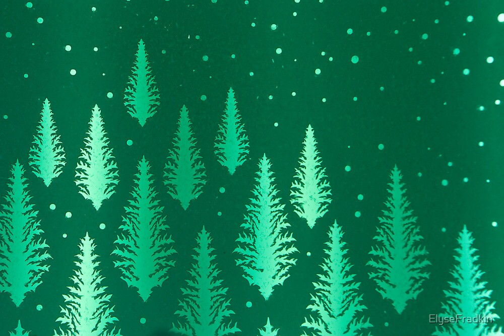 Evergreens...Tinted Green by ElyseFradkin