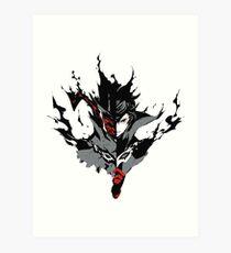 『PERSONA 5』Joker Art Print