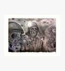 Skeleton Army Art Print
