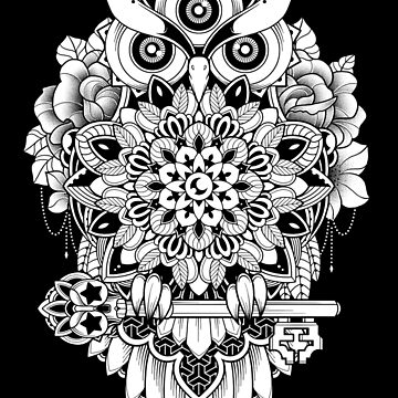 Bird of Wisdom by GODZILLARGE