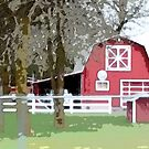 Red Barn by Greg Lester