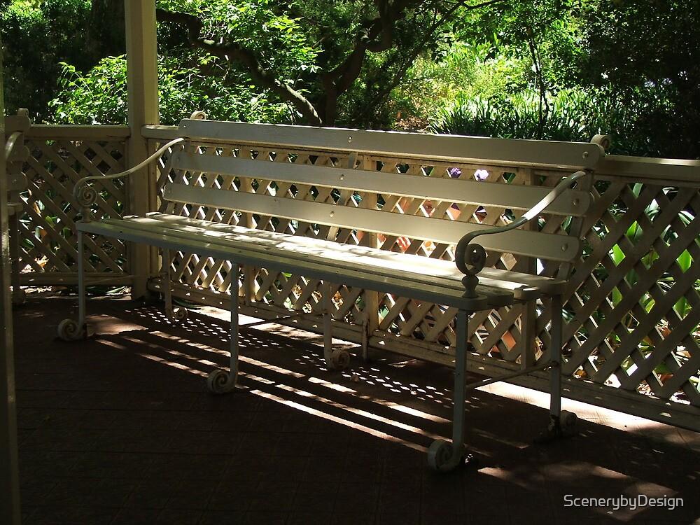 Lattice Bench by ScenerybyDesign