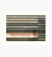 morimoto Art Print