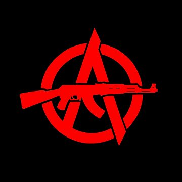 insurrectionary Anarchism - Red by JayBlackstone