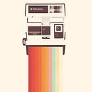 Instant Camera Rainbow by Florent Bodart
