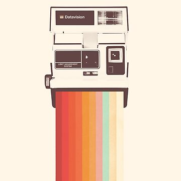 Instant Camera Rainbow by florentbodart