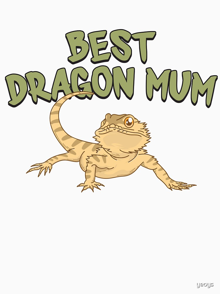 Best Dragon Mom - Funny Reptile Gift von yeoys