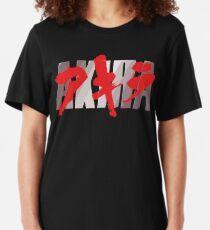 Akira Kaneda On Bike Of Thrones Fanart Anime New Black Tees T-Shirt S-3XL