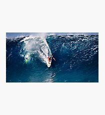 Pipeline Surfer Photographic Print