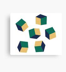 Optical Cube Canvas Print