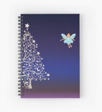 Sugarplum Fairy on Christmas Eve.  Spiral Notebook