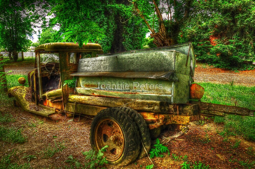 Old Chevy Truck by Jeannie Peters