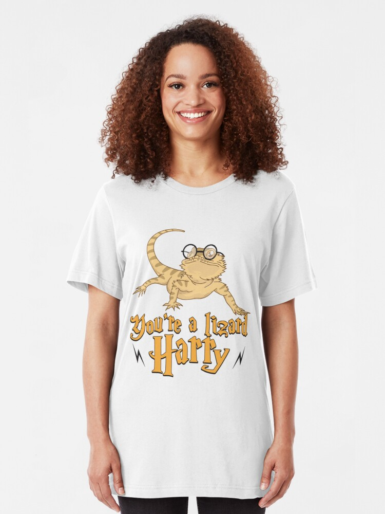 Alternative Ansicht von You're A Lizard Harry - Funny Reptile Gift Slim Fit T-Shirt