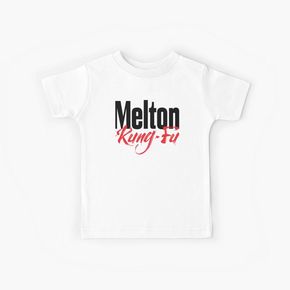 Melton Kung Fu Australia hob mich an Kinder T-Shirt