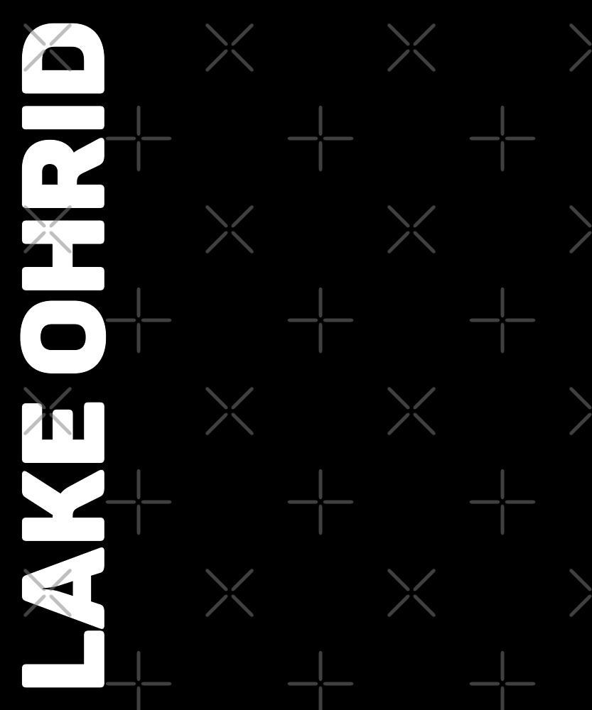Lake Ohrid T-Shirt by designkitsch