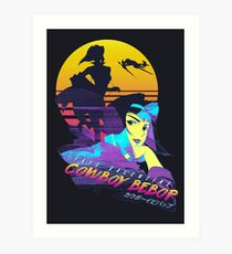 Cowboy Bebop Faye Valentine Art Print