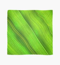 Flowing veins of Nature - Bright Lime Green Leaf Abstract Scarf