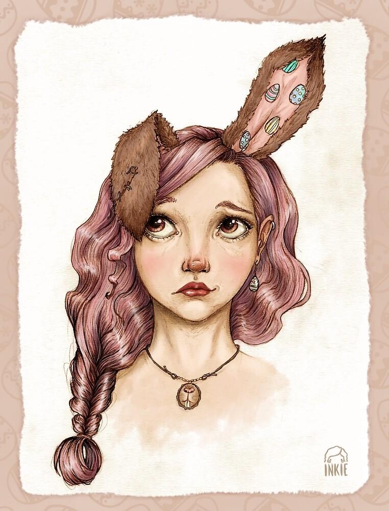 Easter girl by inkiestuff