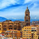 Church in Malaga by dbvirago