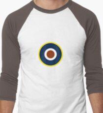 Spitfire Marking Yellow. Men's Baseball ¾ T-Shirt