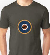 Spitfire Marking Orange - with silhouette.  Unisex T-Shirt