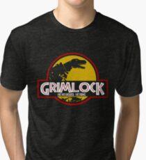 Grimlock (Jurassic Park) Tri-blend T-Shirt