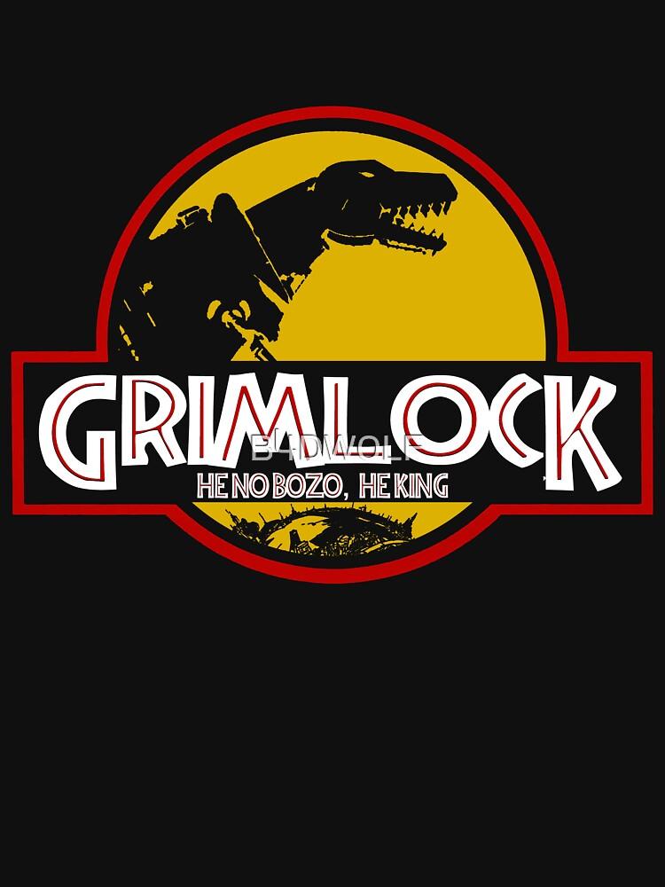 Grimlock (Jurassic Park) by B4DW0LF