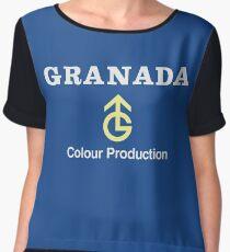 Granada TV logo: from the North Chiffon Top